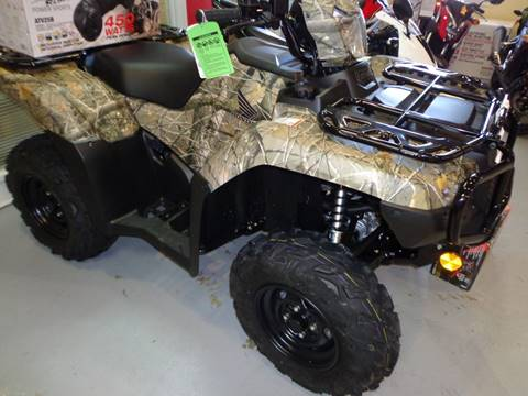 2021 Honda TRX500FM6 for sale at Dan Powers Honda Motorsports in Elizabethtown KY
