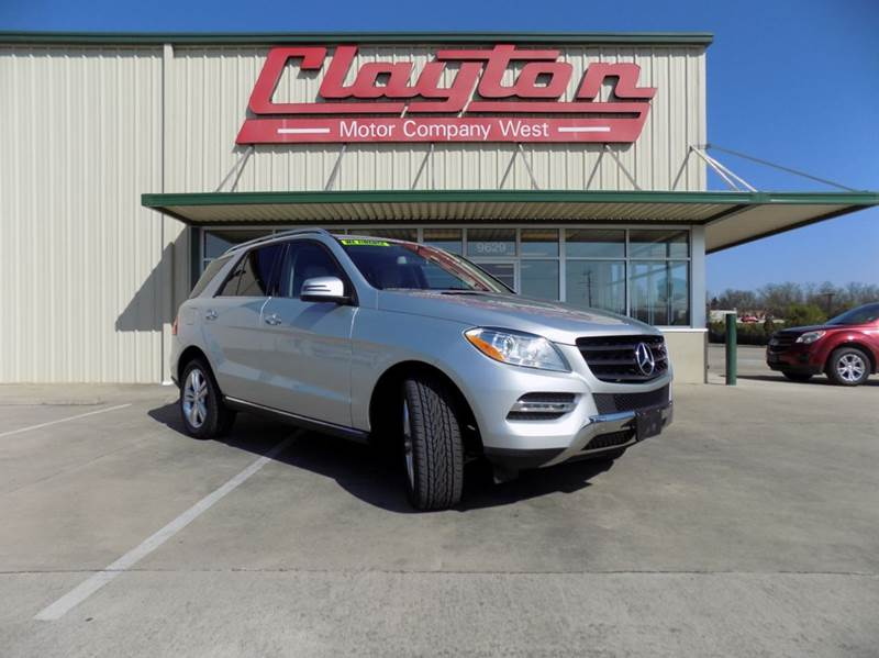 2015 mercedes benz m class awd ml 350 4matic 4dr suv in knoxville tn clayton used cars. Black Bedroom Furniture Sets. Home Design Ideas
