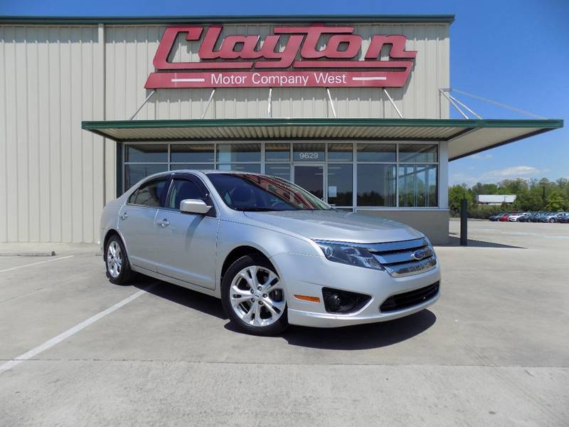2012 ford fusion se 4dr sedan in knoxville tn clayton used cars. Black Bedroom Furniture Sets. Home Design Ideas
