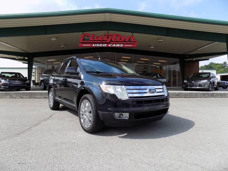 2008 ford edge limited 4dr crossover in knoxville tn clayton used cars. Black Bedroom Furniture Sets. Home Design Ideas