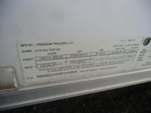 2011 Freedom Enclosed