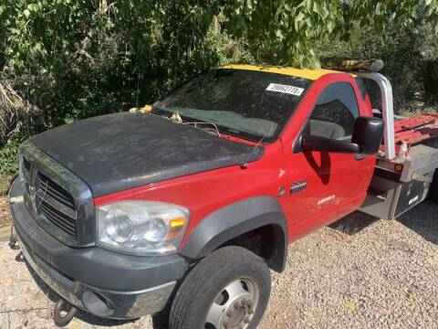 2008 Dodge Ram Chassis 5500 for sale at BERKENKOTTER MOTORS in Brighton CO