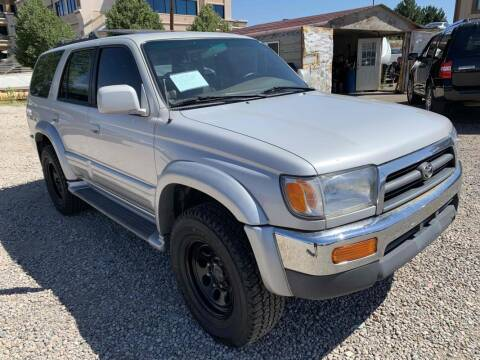 1998 Toyota 4Runner for sale at BERKENKOTTER MOTORS in Brighton CO