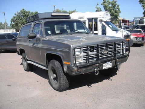 1985 Chevrolet Blazer for sale in Brighton, CO