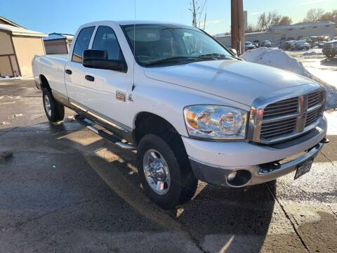 2009 Dodge Ram Pickup 2500 for sale at BERKENKOTTER MOTORS in Brighton CO