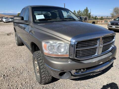 2006 Dodge Ram Pickup 2500 for sale at BERKENKOTTER MOTORS in Brighton CO