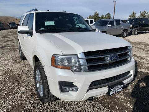 2015 Ford Expedition for sale at BERKENKOTTER MOTORS in Brighton CO