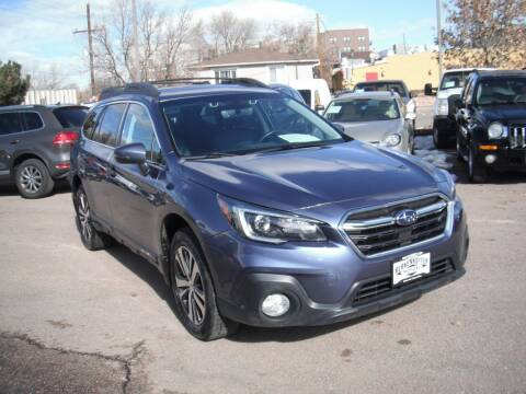 2018 Subaru Outback for sale at BERKENKOTTER MOTORS in Brighton CO
