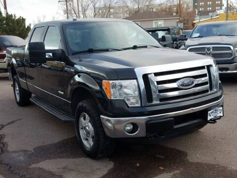 2012 Ford F-150 for sale at BERKENKOTTER MOTORS in Brighton CO