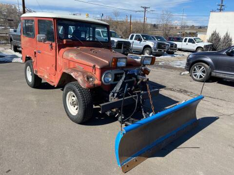 1977 Toyota Land Cruiser for sale at BERKENKOTTER MOTORS in Brighton CO