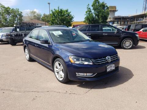 2013 Volkswagen Passat for sale at BERKENKOTTER MOTORS in Brighton CO