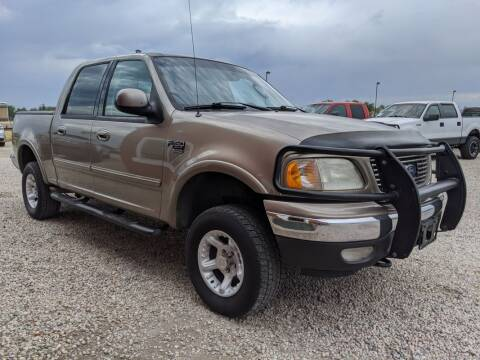 2002 Ford F-150 for sale at BERKENKOTTER MOTORS in Brighton CO