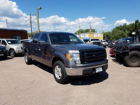 2009 Ford F-150 for sale at BERKENKOTTER MOTORS in Brighton CO