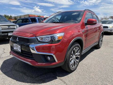 2017 Mitsubishi Outlander Sport for sale at BERKENKOTTER MOTORS in Brighton CO