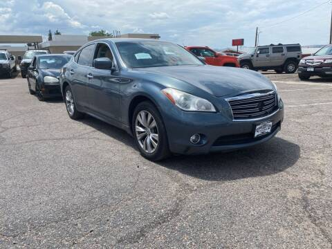 2012 Infiniti M37 for sale at BERKENKOTTER MOTORS in Brighton CO