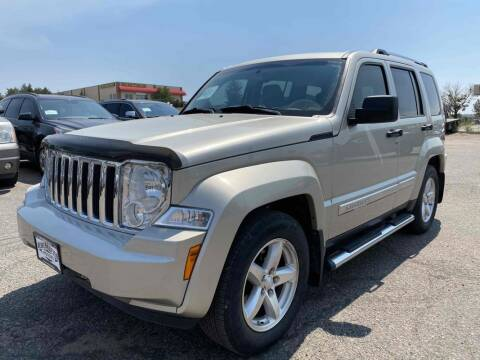 2008 Jeep Liberty for sale at BERKENKOTTER MOTORS in Brighton CO