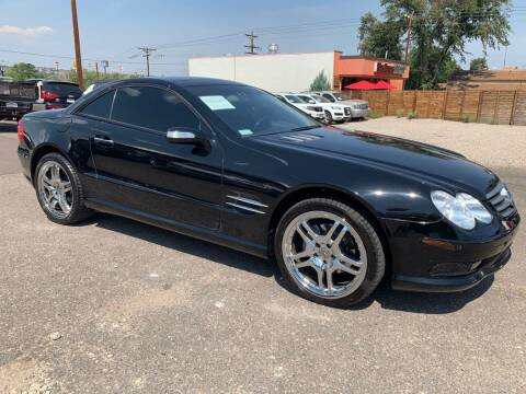 2004 Mercedes-Benz SL-Class for sale at BERKENKOTTER MOTORS in Brighton CO