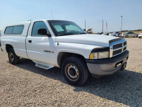 1998 Dodge Ram Pickup 1500 for sale at BERKENKOTTER MOTORS in Brighton CO