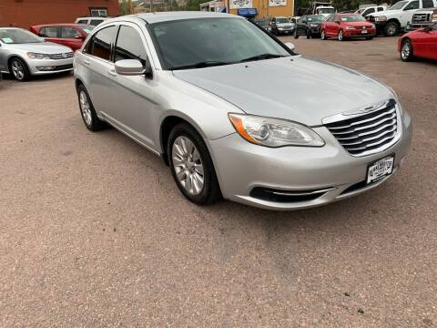 2012 Chrysler 200 for sale at BERKENKOTTER MOTORS in Brighton CO