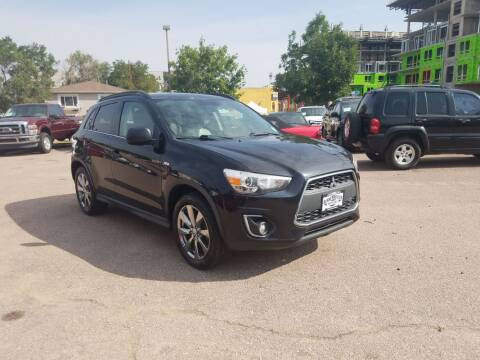 2013 Mitsubishi Outlander Sport for sale at BERKENKOTTER MOTORS in Brighton CO