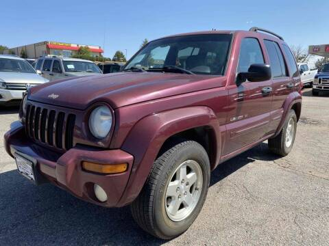 2003 Jeep Liberty for sale at BERKENKOTTER MOTORS in Brighton CO