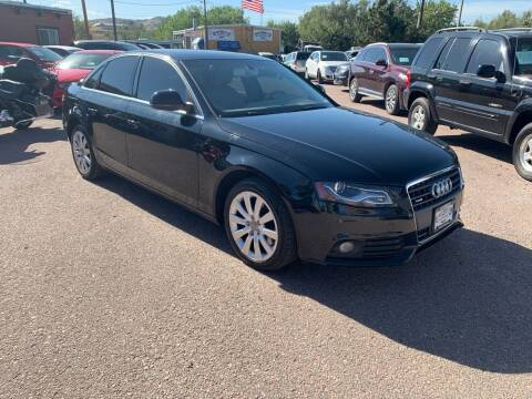 2009 Audi A4 for sale at BERKENKOTTER MOTORS in Brighton CO
