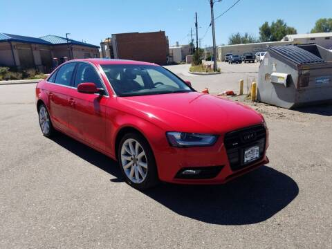 2013 Audi A4 for sale at BERKENKOTTER MOTORS in Brighton CO