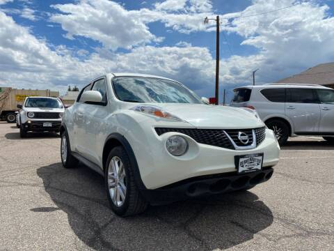 2011 Nissan JUKE for sale at BERKENKOTTER MOTORS in Brighton CO