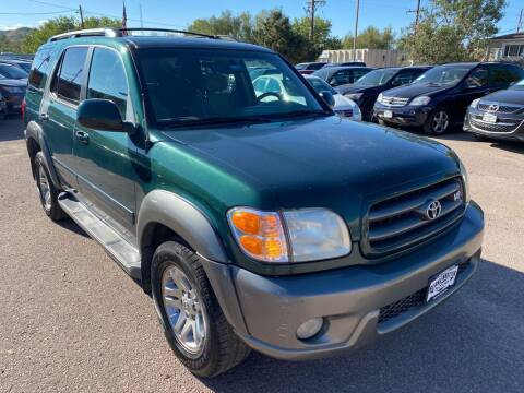 2003 Toyota Sequoia for sale at BERKENKOTTER MOTORS in Brighton CO
