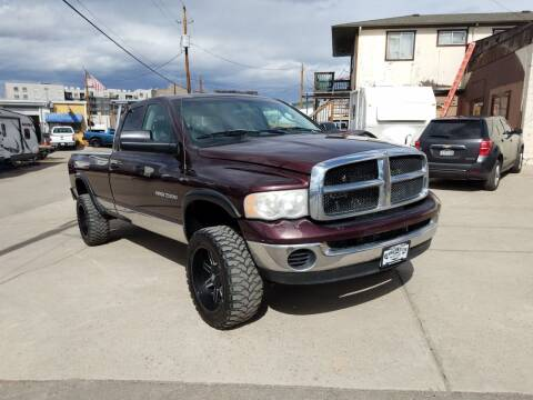 2004 Dodge Ram Pickup 2500 for sale at BERKENKOTTER MOTORS in Brighton CO