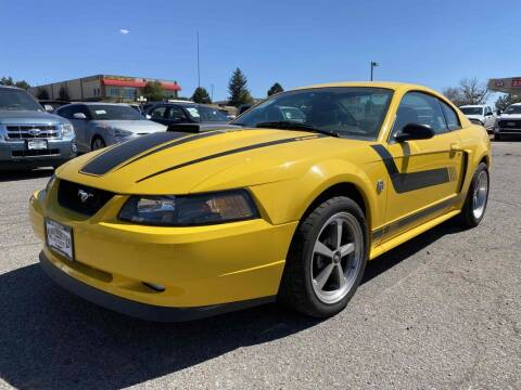 2004 Ford Mustang for sale at BERKENKOTTER MOTORS in Brighton CO
