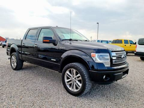 2014 Ford F-150 for sale at BERKENKOTTER MOTORS in Brighton CO