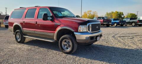 2001 Ford Excursion for sale at BERKENKOTTER MOTORS in Brighton CO