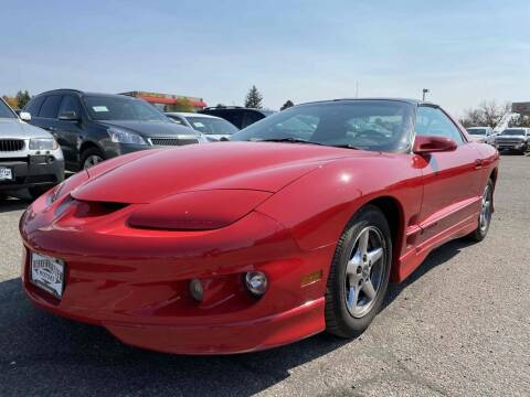 2002 Pontiac Firebird for sale at BERKENKOTTER MOTORS in Brighton CO