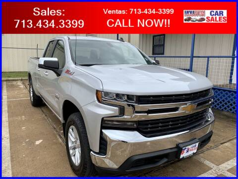 2019 Chevrolet Silverado 1500 for sale at HOUSTON CAR SALES INC in Houston TX