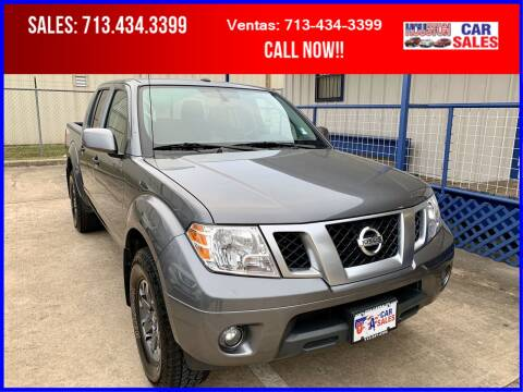 2019 Nissan Frontier for sale at HOUSTON CAR SALES INC in Houston TX