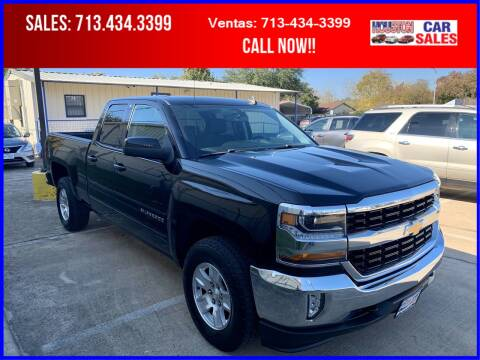 2017 Chevrolet Silverado 1500 for sale at HOUSTON CAR SALES INC in Houston TX
