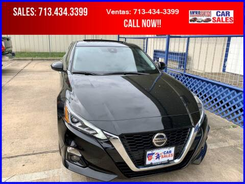 2019 Nissan Altima for sale at HOUSTON CAR SALES INC in Houston TX