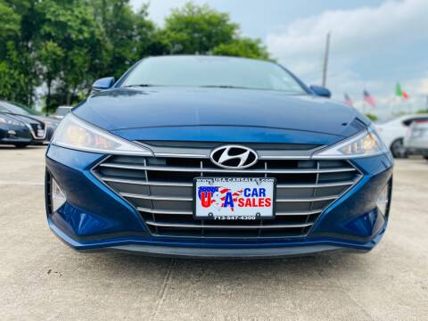 2020 Hyundai Elantra for sale at HOUSTON CAR SALES INC in Houston TX