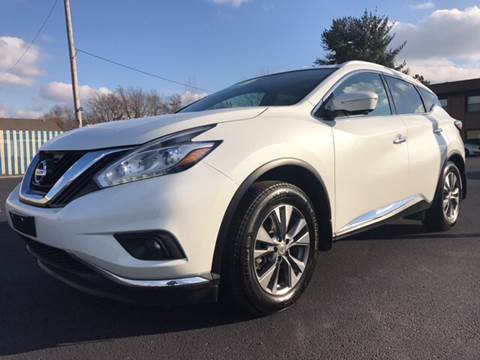 Used 2015 nissan murano for sale in kentucky for Car city motors louisville ky