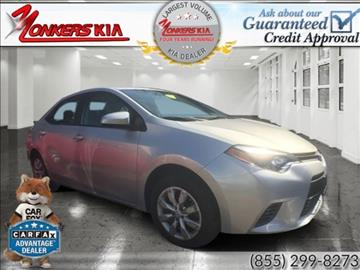 2016 Toyota Corolla for sale in Yonkers, NY