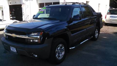 2004 Chevrolet Avalanche for sale at York Street Auto in Poultney VT