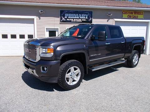 2015 GMC Sierra 2500HD for sale in Sabattus, ME