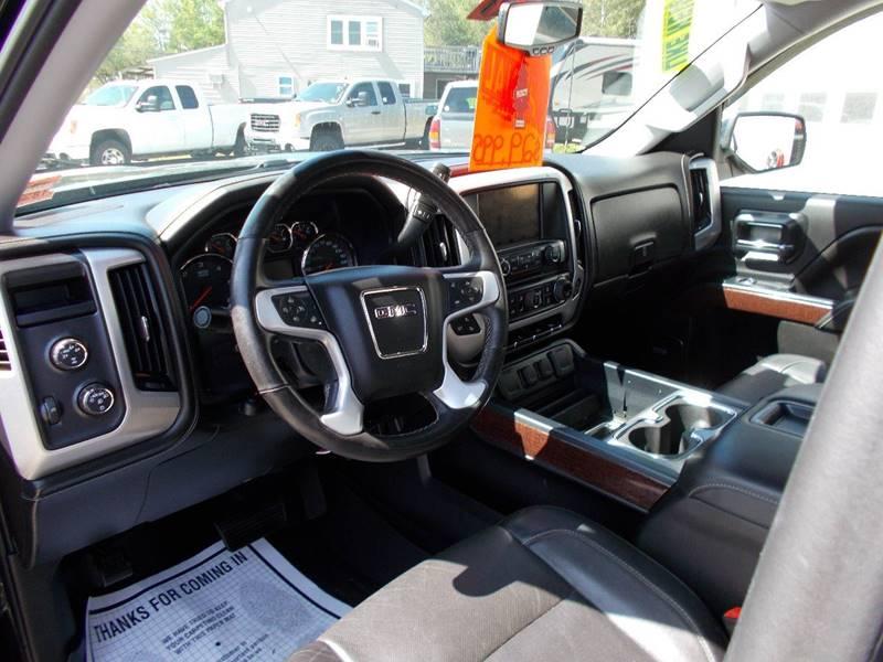 2014 Gmc Sierra 1500 4x4 SLT 4dr Double Cab 6 5 Ft SB In