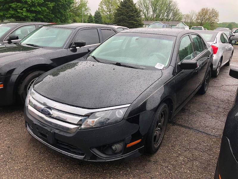 2010 Ford Fusion for sale at Pine Auto Sales in Paw Paw MI