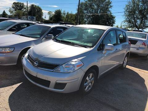 2012 Nissan Versa for sale at Pine Auto Sales in Paw Paw MI