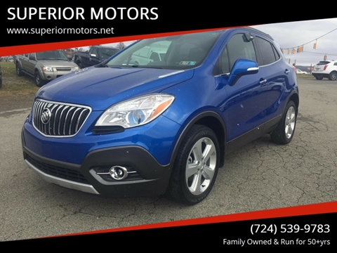 Buick Used Cars Commercial Vans For Sale Latrobe Superior Motors