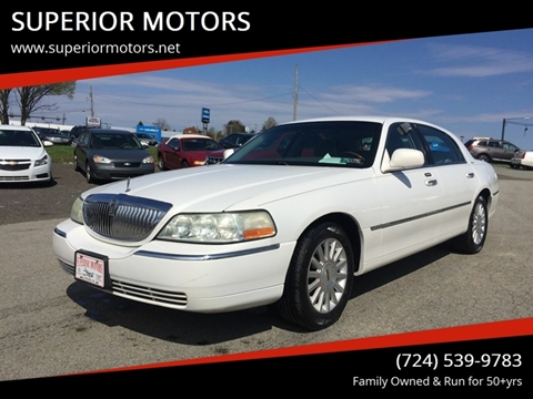 2003 Lincoln Town Car $5,950