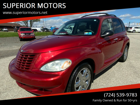2003 Chrysler PT Cruiser Limited Edition for sale at SUPERIOR MOTORS in Latrobe PA
