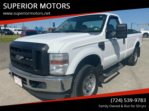 2010 Ford F-250 Super Duty XL for sale at SUPERIOR MOTORS in Latrobe PA